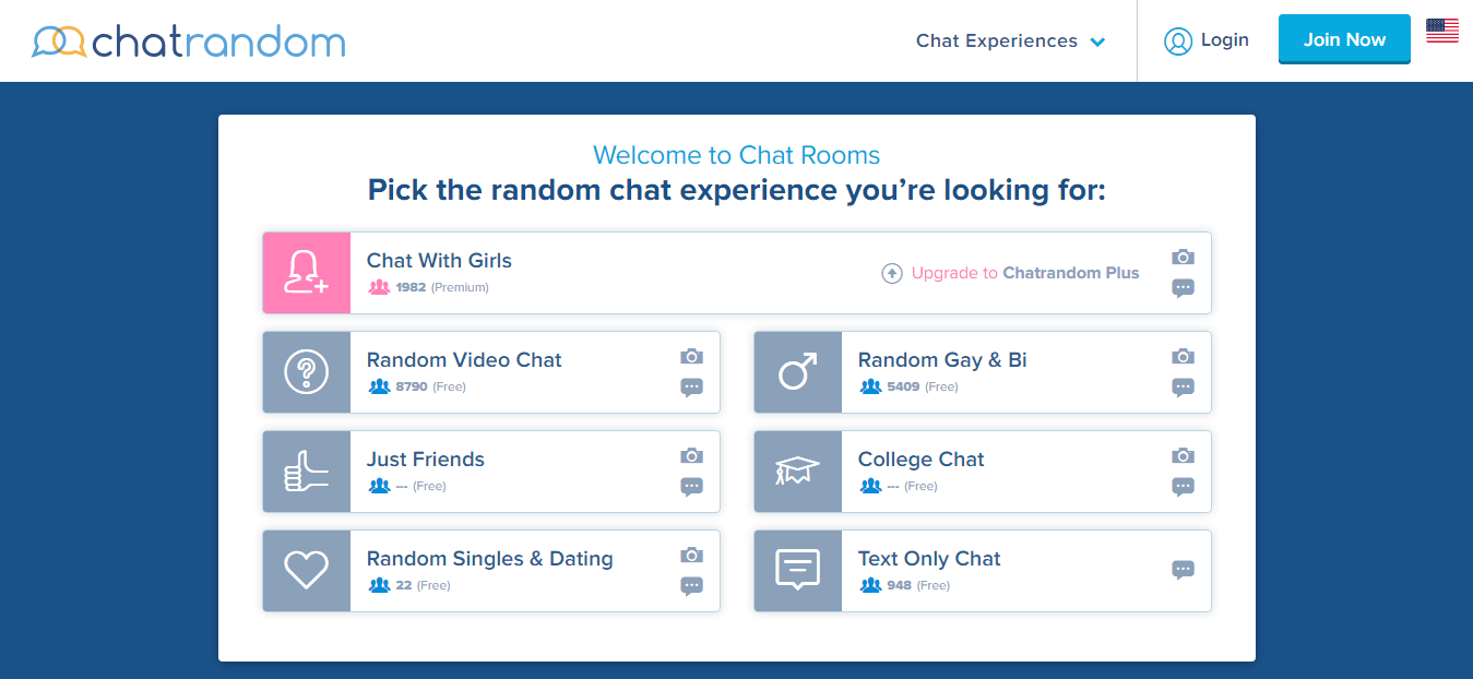chatrandom chat room